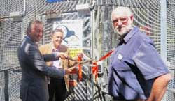 Photo of the ribbon cutting ceremony